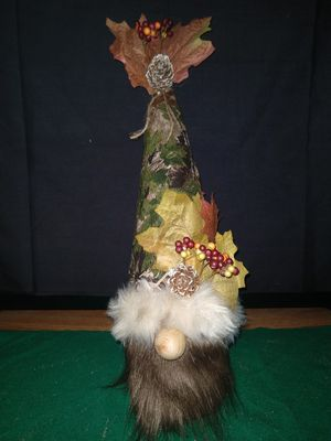 Real tree country gnome for Sale in Manton, MI