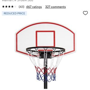 ⭐️ADJUSTABLE BASKETBALL HOOP⭐️ for Sale in Los Angeles, CA