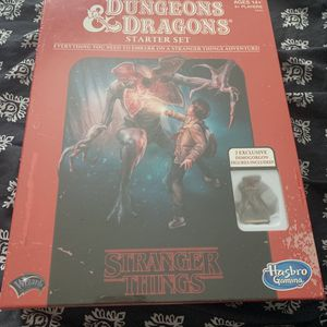 Stranger Things Dungeons and Dragons Board Game for Sale in Winter Haven, FL