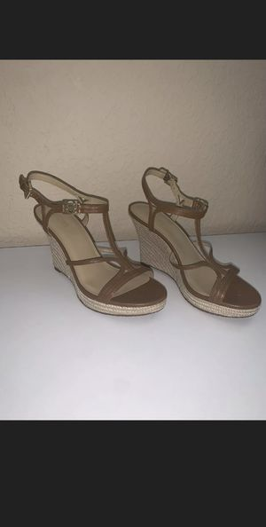 NEW MICHAEL Michael Kors Cicely Wedge Sandal US 7 for Sale in FL, US