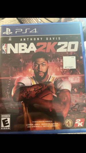 PS4 Game NBA2K20 for Sale in Pittsburg, CA