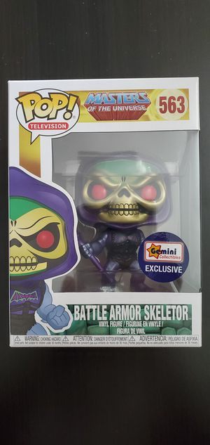 Funko Pop Television Master Of The Universe Battle Armor Skeletor #563 Gemini Exclusive for Sale in Long Beach, CA