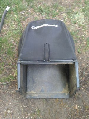 Troy-bilt replacement lawn mower grass catcher bag Carrier part for Sale in Arlington, MA