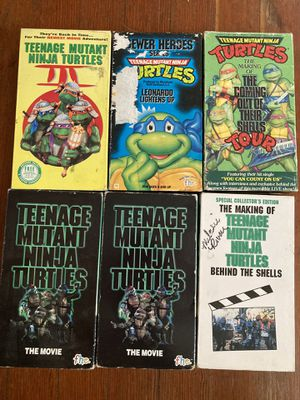 VHS Teenage Mutant Abuja Turtle package for Sale in Portland, OR