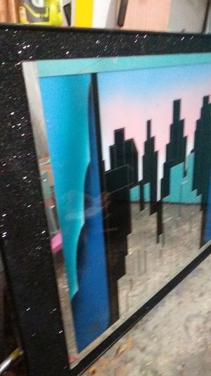 5ft x4ft city picture for Sale in Mundelein, IL