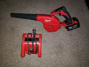 Blower Milwaukee m18 con batería 5.0 for Sale in Springfield, VA