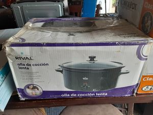 Rival Crockpot/Slow cooker for Sale in Spring, TX