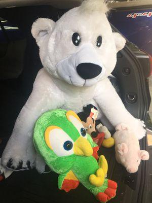 4 stuffed teddy bears for Sale in Ypsilanti, MI