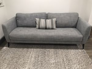 Grey sofa / couch - like new for Sale in Hialeah, FL