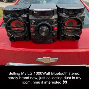 LG 1000Watt Bluetooth Stereo for Sale in Pharr, TX