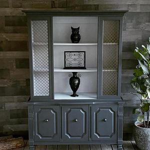 Custom Painted China Cabinet for Sale in Raleigh, NC