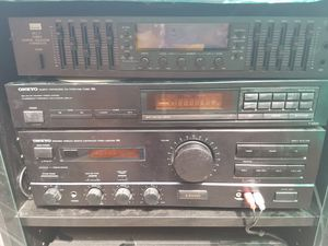 Onkiyo A Rv 400 Rack Stereo System for Sale in Lathrop, CA