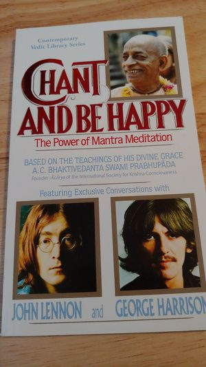 CHANT AND BE HAPPY The Power of Mantra Meditation for Sale in Ontario, CA