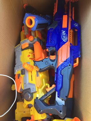 Large lot of Nerf Guns for Sale in Ashley, OH