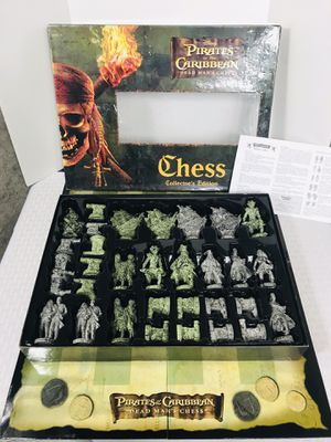 2006 Pirates of the Caribbean Deadman's chest Chess Set for Sale in Pawtucket, RI