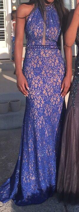 Royal Blue Prom Dress for Sale in Manassas, VA