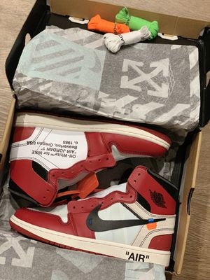 AIR JORDAN 1 OFF WHITE Chicago SIZE 8 for Sale in West Los Angeles, CA