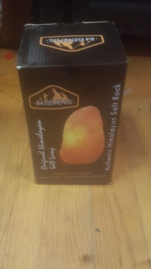Himalayan Salt Rock Lamp for Sale in Albany, NY