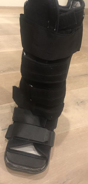 Medical grade bioskin boot with rubber bottom for Sale in Austin, TX