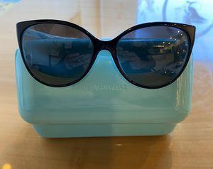 Tiffany & Co. Sunglasses Black Polarized Grey Gradient Lens 58mm for Sale in Santa Ana, CA
