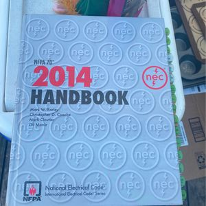 2014 Nec Code Book Slightly Used for Sale in Hayward, CA