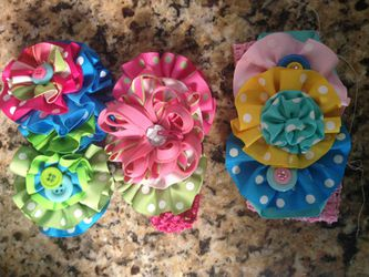 Baby girls headbands and bows. for Sale in Price,  UT