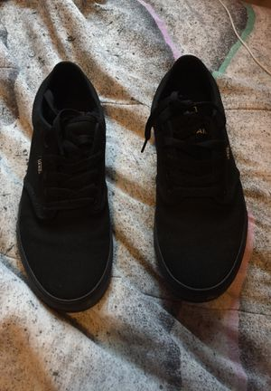 Black vans size 10 for Sale in Avella, PA
