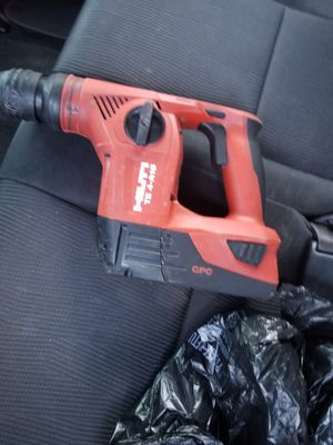 HILTI HAMER DRILL BATTERY NO CHARGER for Sale in Wheaton, MD
