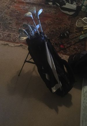 Full set of acclaim prokennex golf clubs with bag for Sale in Alexandria, VA