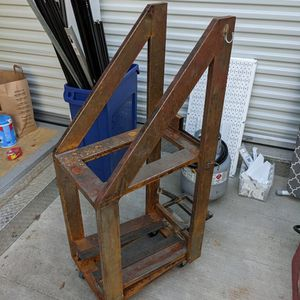 Welder Cart For Two Welders And Argon Tank Holder On Back for Sale in Brooklyn, NY
