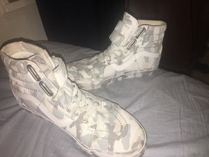 Vans gray and white sz8 for Sale in Oxon Hill, MD