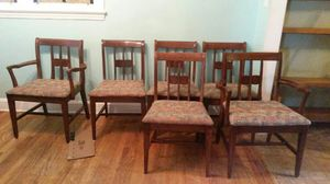 Antique table and 6 chairs for Sale in New York, NY