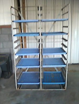 Baking racks stand and 10 Trays for Sale in Mesa, AZ