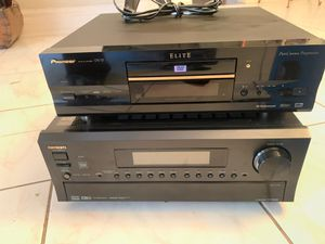 Home theater Onkyo $ DVD player Elite for Sale in Lancaster, TX