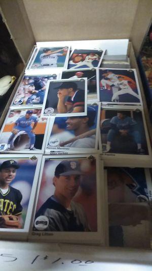 Box full of 1990 upper Deck baseball for Sale in Middleburg, FL