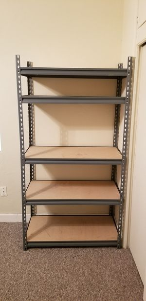 Metal Storage Unit with 5 Shelves for Sale in Orlando, FL