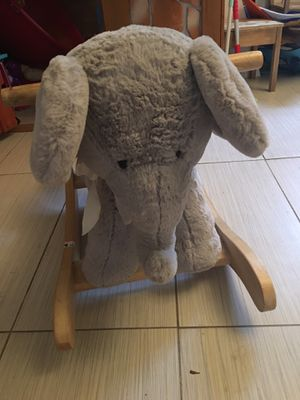 Pottery barn ride up elephant for Sale in San Diego, CA