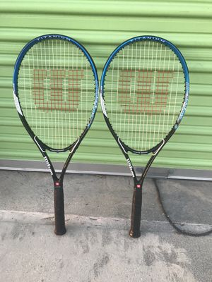 Wilson Tennis Racket Impact Volcanic Frame Titanium Power Bridge Racquet for Sale in Lake Forest, CA
