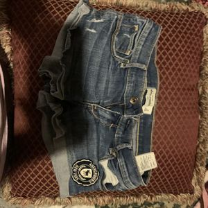 Girls Size 16 Jean Shorts for Sale in New Lenox, IL
