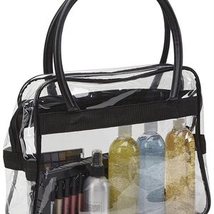 BRAND NEW CLEAR PURSE MAKE UP POUCH TOTE SHOPPING DIAPER BAG GIFTS for Sale in La Habra, CA