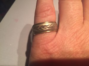 10 karat gold filled over silver ring for Sale in Sugar Notch, PA