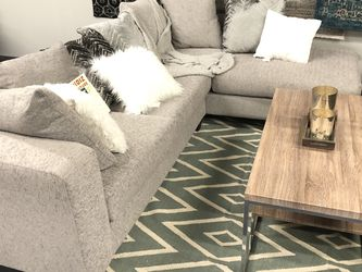 BRAND NEW SECTIONAL SOFA GRAY WITH Pillows for Sale in Fort Worth,  TX