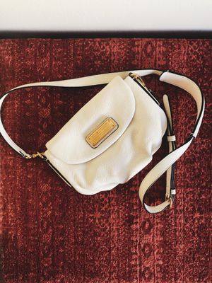 Marc by Marc Jacobs Small Crossbody Bag White for Sale in West Los Angeles, CA