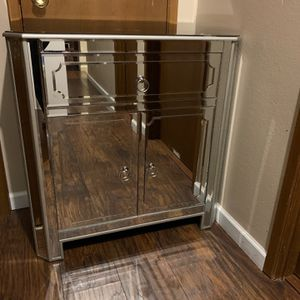 Mirrored Night Stand Or Tv Stand for Sale in Redmond, WA