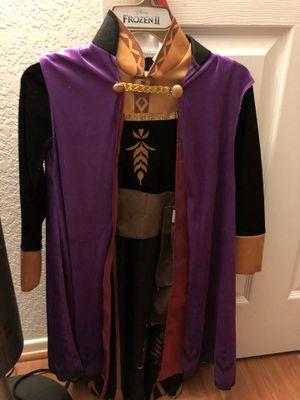 Frozen 2 Anna 3 piece costume dress new Size Small (4-6) for Sale in Chula Vista, CA