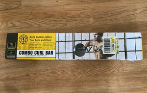 Gold's Gym Combo Curl Bar for Sale in Toledo, OH
