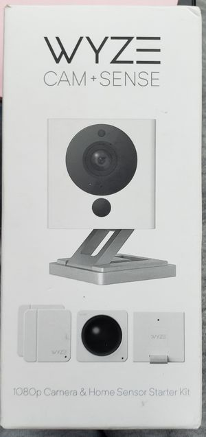 Waze indoor security camera and sensor kit for Sale in Oak Grove, MN