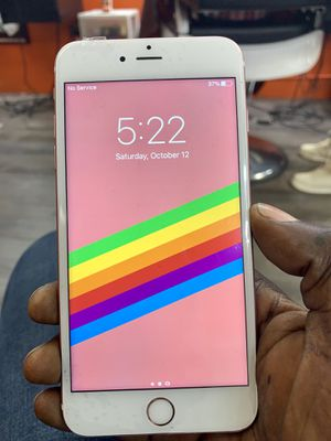 iPhone 6s Plus 64gb unlocked jailbroken for Sale in White Plains, NY
