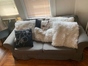 Heather Grey Couch for Sale in Buffalo, NY