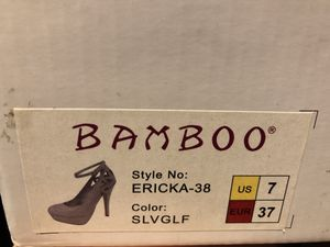 Bamboo Ericka-38 Silver for Sale in Los Angeles, CA